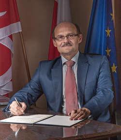 Andrzej Bezdziecki, wójt gminy Kalinowo