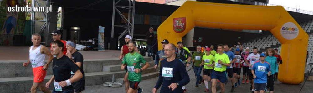 Biegacz ze Szczytna wygrał 1. Maraton Mazur Zachodnich [zdjęcia]