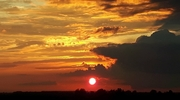 Zdjęcie Tygodnia. Zachód słońca nad Bartoszycami