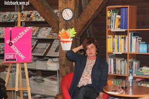 Spotkanie autorskie z Hanną Cygler w lidzbarskiej bibliotece