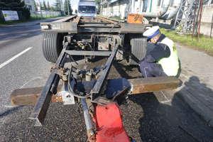 Tragiczny wypadek w Olsztynie. Dyszel wbił się w 20-latka