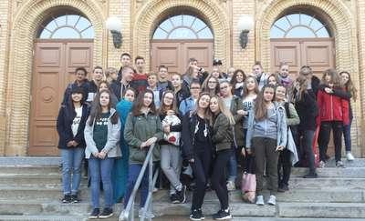 Wymiana młodzieży: z wizytą w Halle