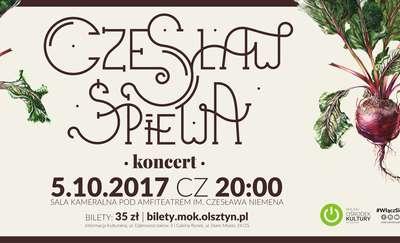 Czesław (za)Śpiewa pod amfiteatrem
