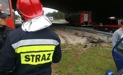 Wypadek na S7 między Ostródą a Miłomłynem. Droga częściowo zablokowana