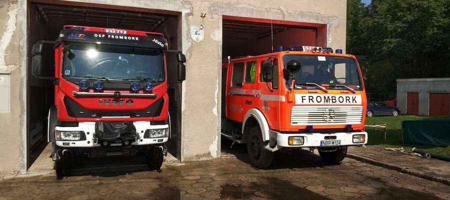 Strażacy z Fromborka mają nowy pojazd