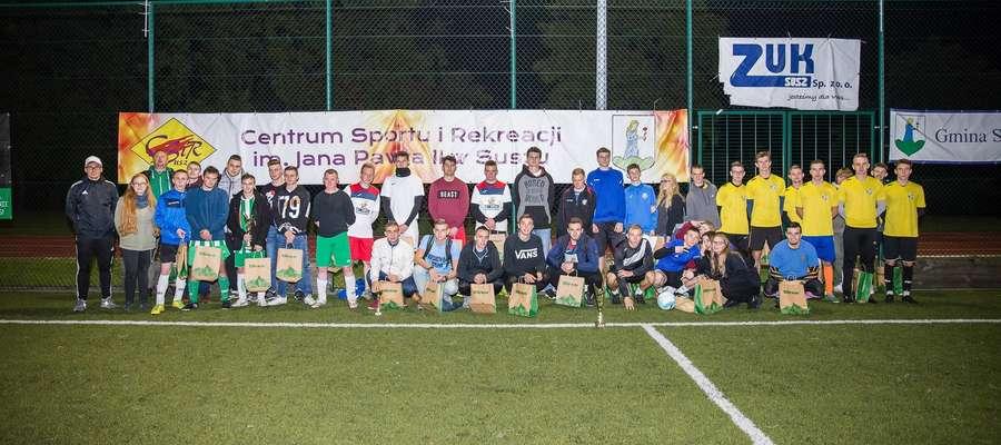 Uczestnicy turnieju w Suszu