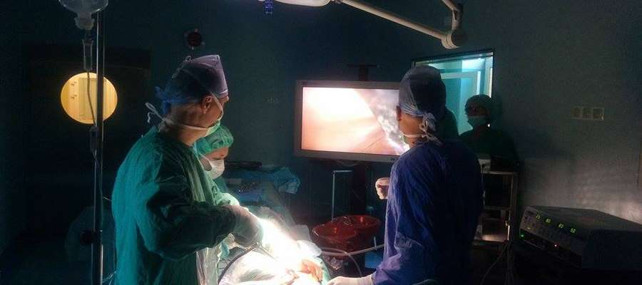 Szpital w Lidzbarku Warmińskim kupił nowoczesny cyfrowy tor wizyjny - kamerę oraz monitor medyczny wraz z niezbędnym osprzętem do wykonywania zabiegów laparoskopowych