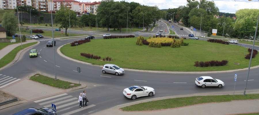 Wypadek na ul. Bałtyckiej w Olsztynie