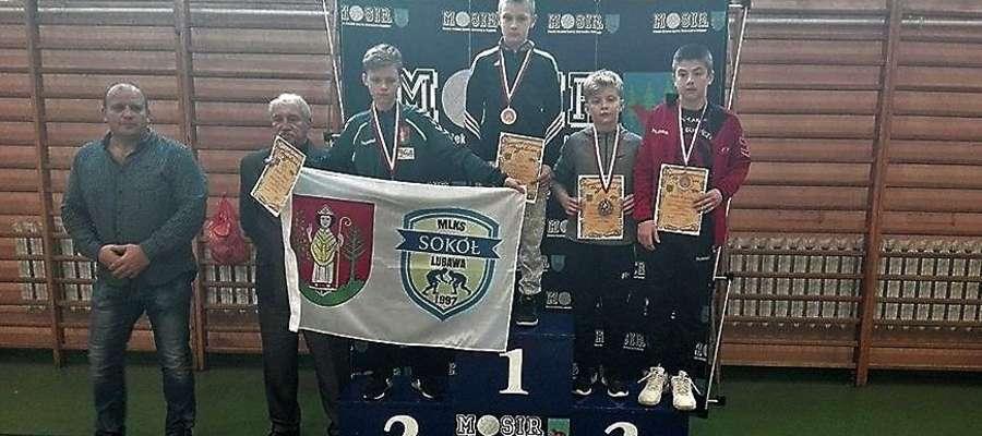 Maciej Szmyd (Orzeł Karolewo) stanął na najwyższym podium Międzywojewódzkich Mistrzostw Młodzików.
