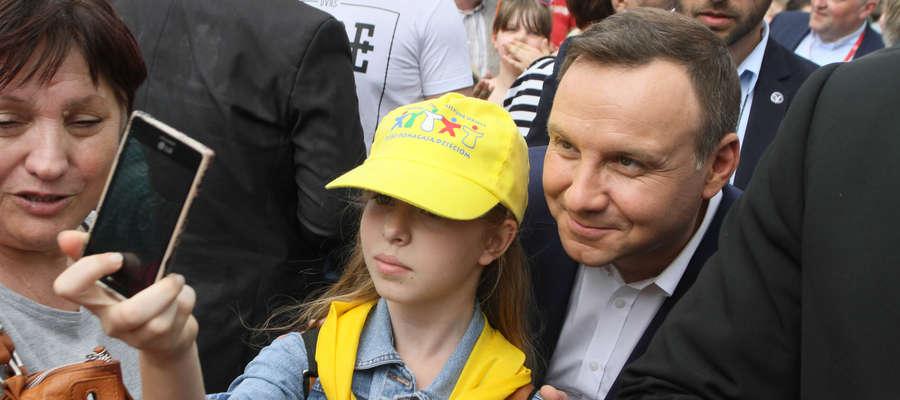 Prezydent Andrzej Duda odwiedzi Jeziorany