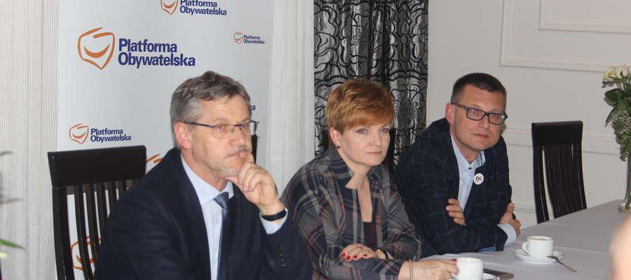 Posłowie gościli w Żurominie we wtorek 19 września