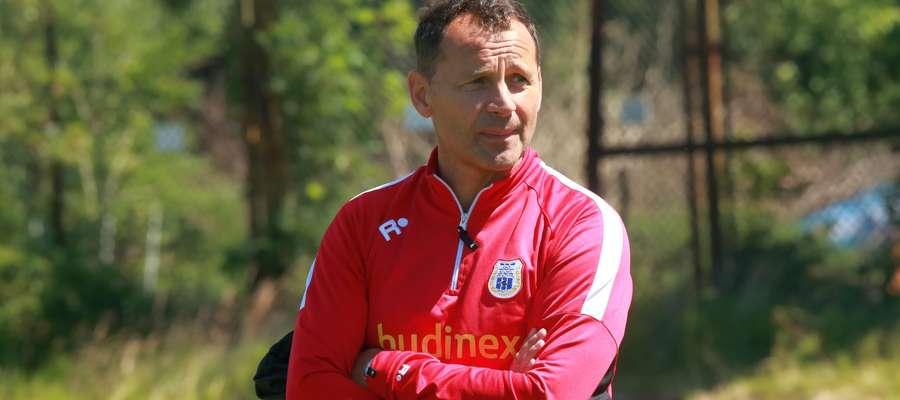 Przyjeżdża do nas lider I ligi: to będzie wyzwanie, skala trudności rośnie — mówi przed sobotnim meczem z Miedzią Tomasz Asensky