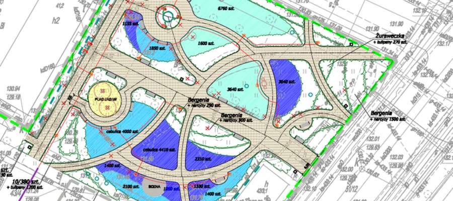 Projekt placu Pułaskiego