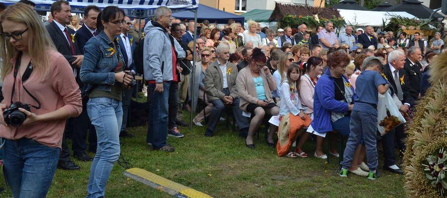 W tym roku dożynki gminne odbyły się w Idzbarku