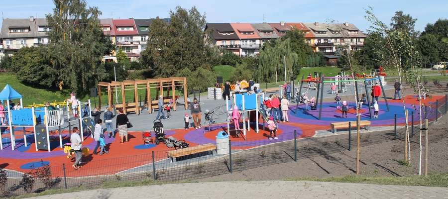 Park Rekreacyjny na Osiedlu Nowa Gdańska w Lubawie
