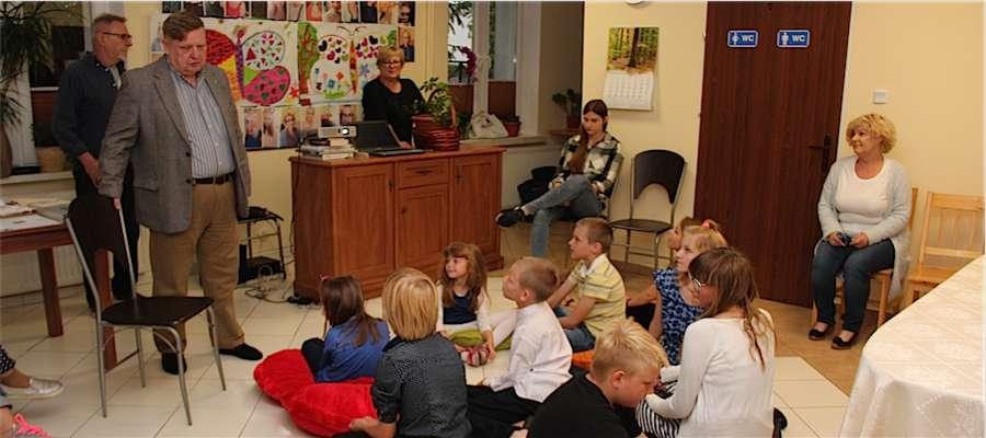 Uroczyste zakończenie warsztatów filmowych w giżyckim Domu Dziecka