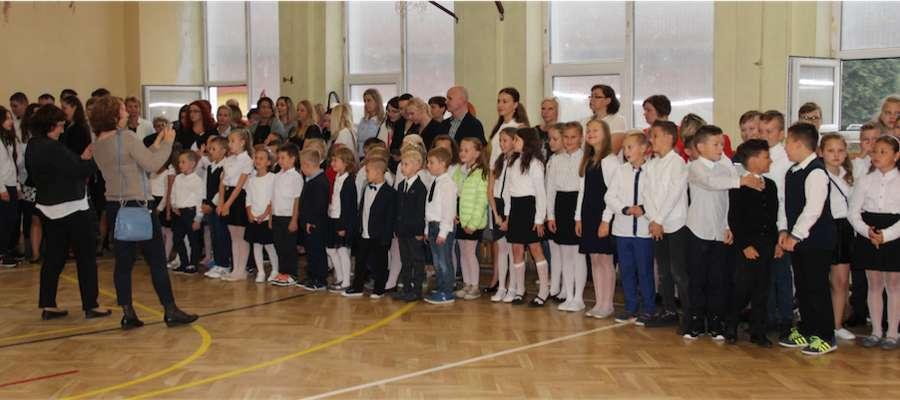 Uczniowie Szkoły Podstawowej nr 2 w Giżycku