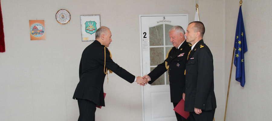 Zmiana na stanowisku komendanta KP PSP w Giżycku