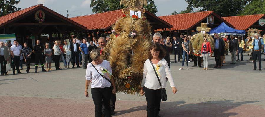 Najładniejszy wieniec wykonano w sołectwie Troszkowo.