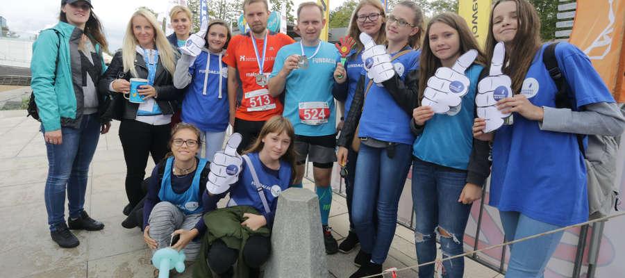 Niedzielny, drugi Ukiel Półmaraton zgromadził na starcie szerokie grono miłośników biegania
