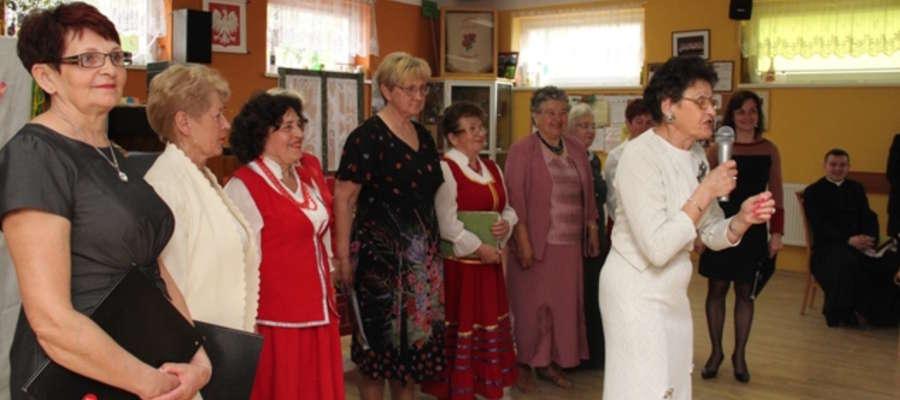 Jedno ze spotkań w giżyckim Klubie Seniora