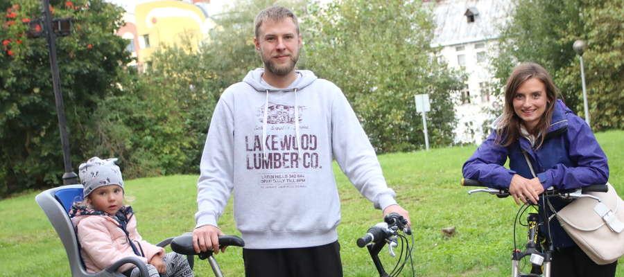 Magdalena Prątkowska-Duda i jej mąż, Daniel Duda, są zwolennikami komunikacji rowerowej