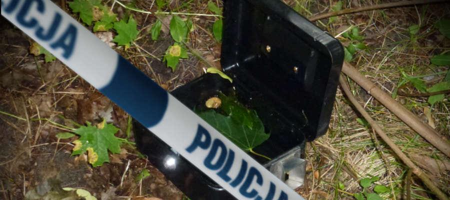 Kasetka została odnaleziona przez nowomiejskich mundurowych.