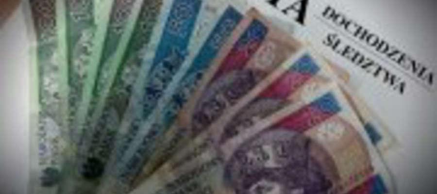 33-latek z Morąga próbował w kantorze wymienić fałszywe banknoty