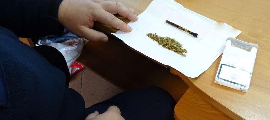 Znaleziona marihuana