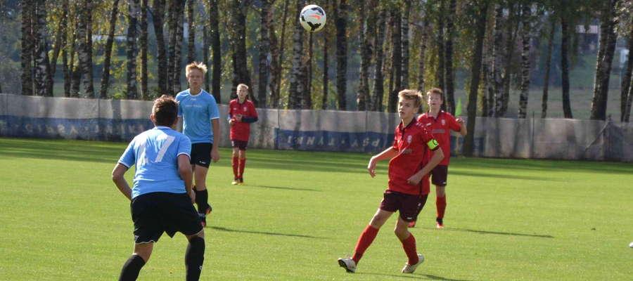Kacper Sezonienko w dwóch meczach sezonu 2017/2018 zdobył już 7 goli dla ekipy trampkarzy AP Ostróda
