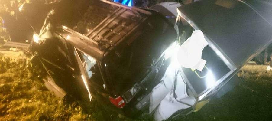 W wypadku pod Srokowem zginęło dwóch mężczyzn.