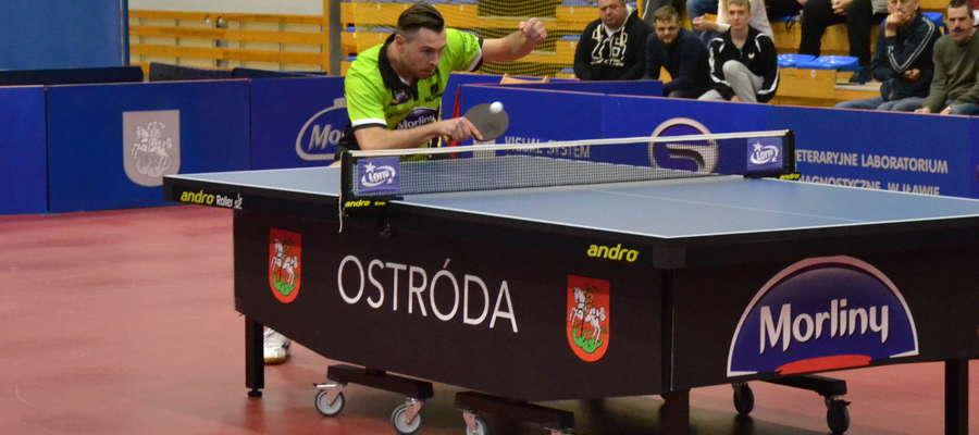 Bartosz Such od zwycięstwa rozpoczął swój drugi sezon w ostródzkim zespole
