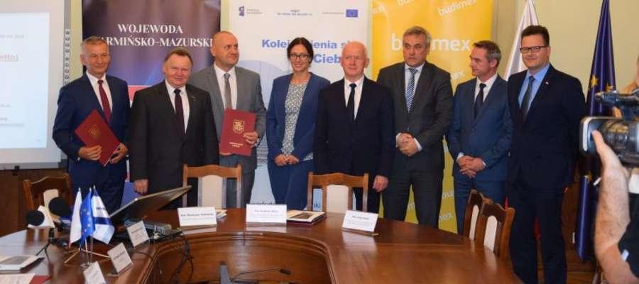 Na spotkaniu w Urzędzie Wojewódzkim w Olsztynie