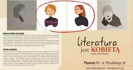 Literatura jest kobietą – spotkanie z Iwoną Bolińską-Walendzik oraz Urszulą Kosińską - full image