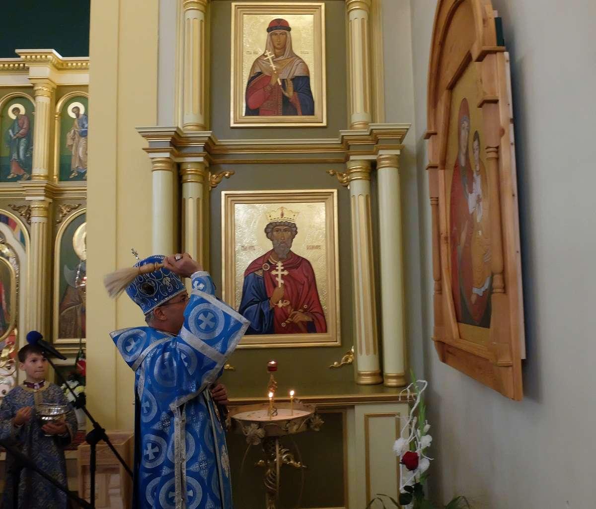 Olsztyńscy grekokatolicy spotkali się na święcie parafialnym - full image