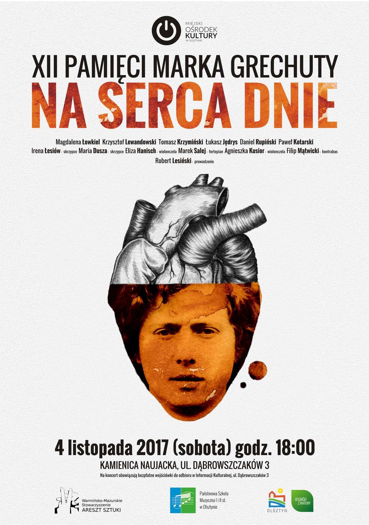 Marek Grechuta Na serca dnie - full image