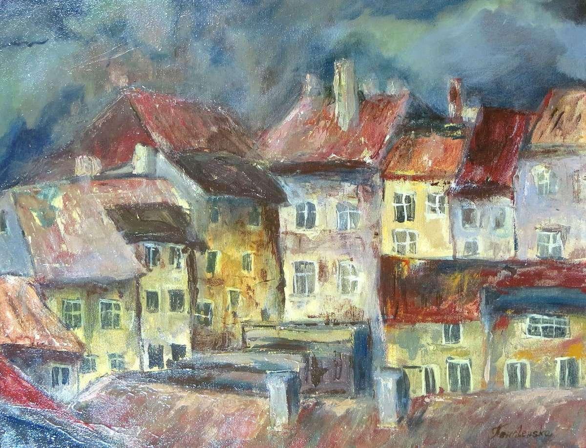 Wernisaż malarstwa Barbary Kowalewskiej w galerii Bakałarz - full image