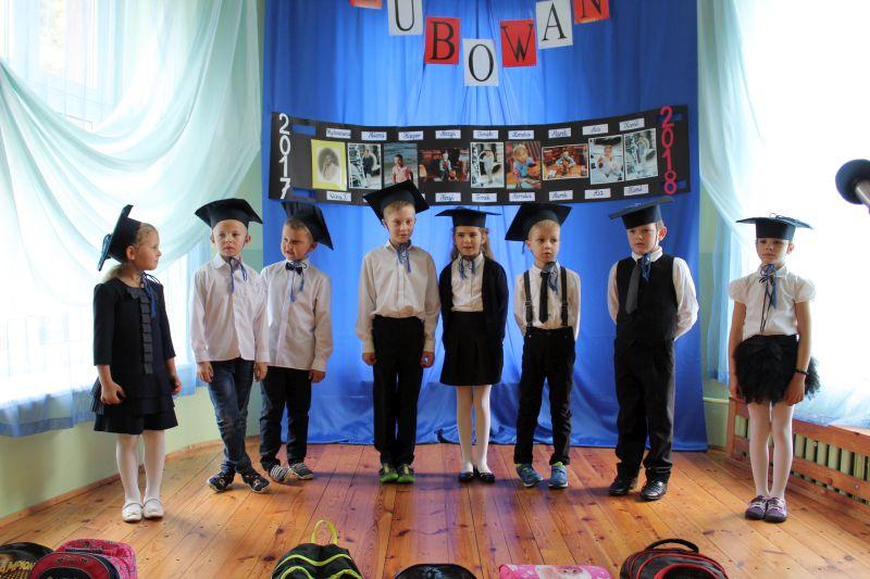 Krawczyki ślubowanie Uczniów Klasy Pierwszej Bartoszyce