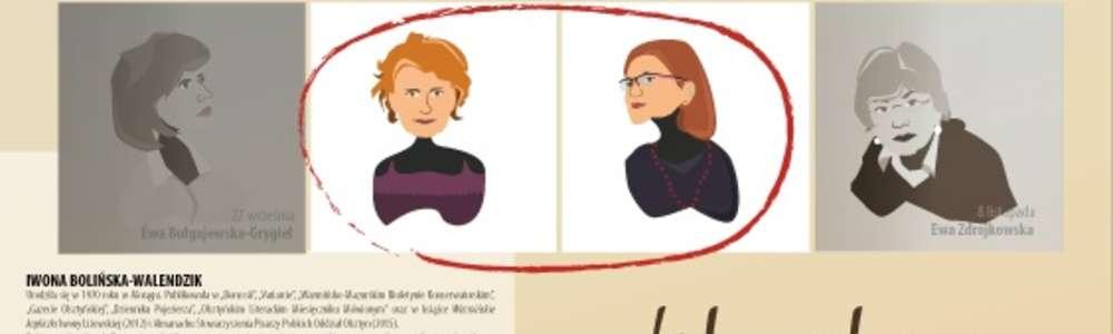 Literatura jest kobietą – spotkanie z Iwoną Bolińską-Walendzik oraz Urszulą Kosińską