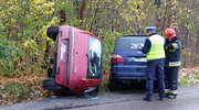 Zderzenie dwóch samochodów przy Gdańskiej