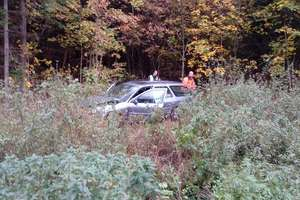 Wypadek na trasie Pieszkowo - Lidzbark Warmiński. Kierowca i pasażer ciężko ranni