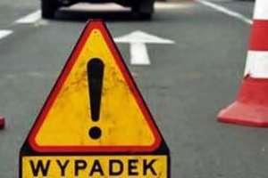 Wypadek w Rapatach. DK 16 na odcinku Olsztyn - Ostróda zablokowana
