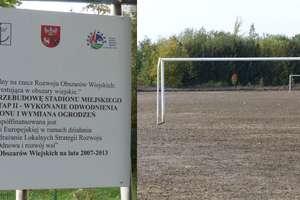 Tak wygląda stadion Zalewu Frombork po wrześniowych podtopieniach. ZOBACZ ZDJĘCIA