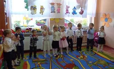 Pasowanie na przedszkolaka w Zajączkowie