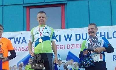 Witold Zagożdżon wicemistrzem Polski w Duathlonie
