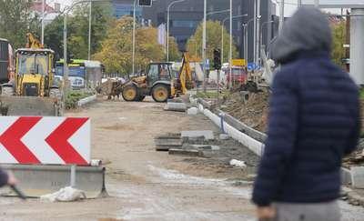 Kolejne zmiany na ulicy Leonharda w Olsztynie. Pojedziemy nowym asfaltem