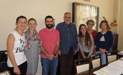 Goście z Gruzji i Jordanii
