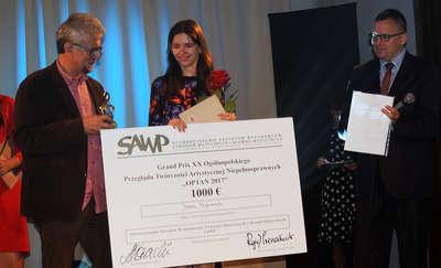 Grand Prix dla Joanny Przyborowskiej