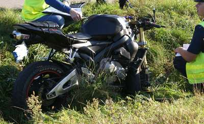 Z ostatniej chwili: Śmiertelny wypadek motocyklisty na Osówcu