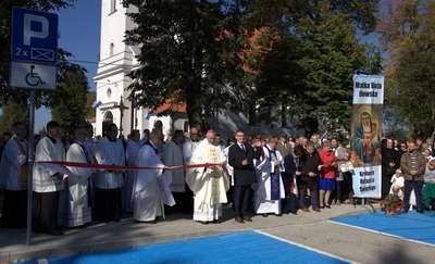 Święto parafii i nowy parking [zdjęcia]